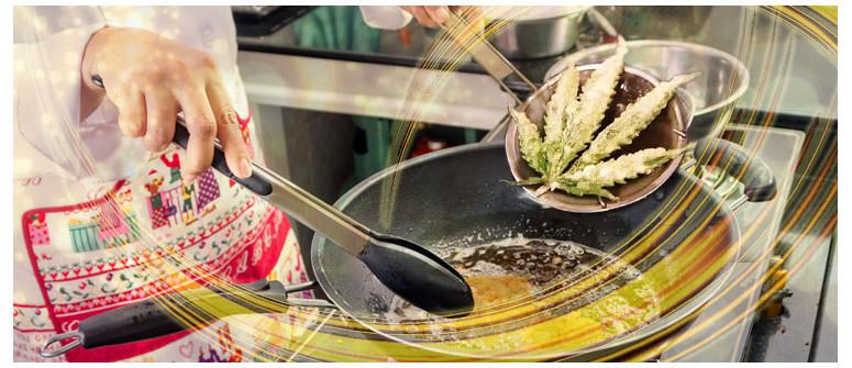 Deep fried marijuana leaves recipe