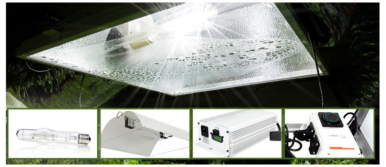 The 4 components of a grow room HID lighting system