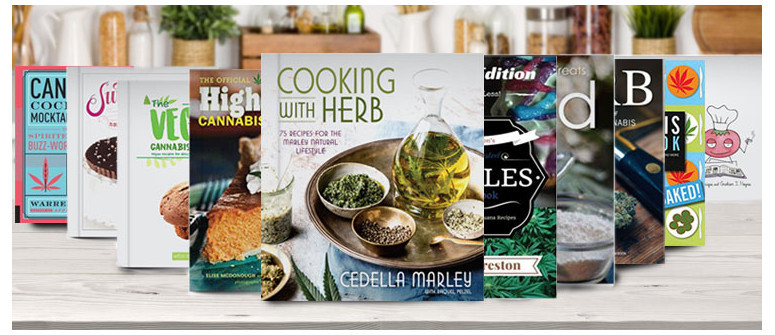 10 Inspiring books for cooking with cannabis