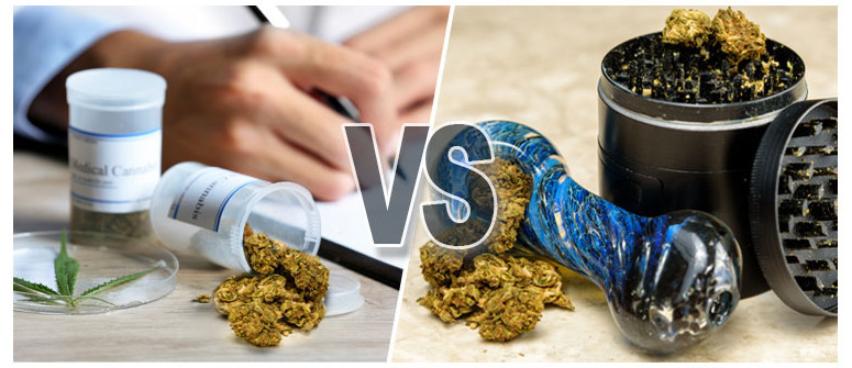 Medical vs recreational marijuana - what's the difference?
