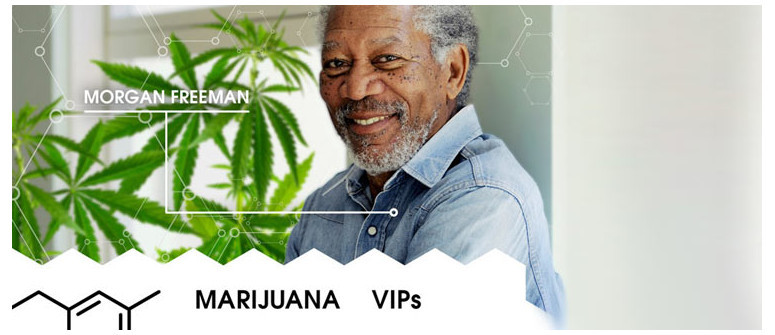 Marijuana VIP: Morgan Freeman
