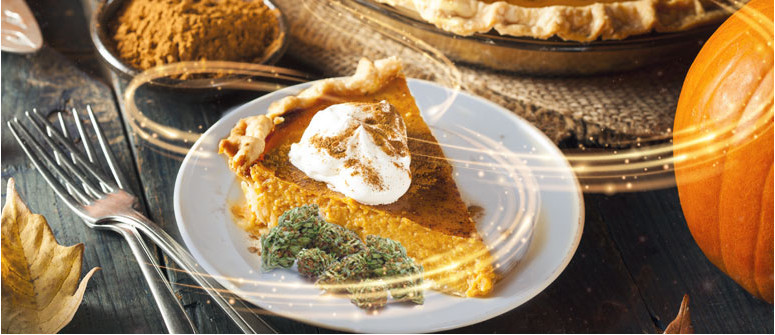 Get high with pumpkin pie