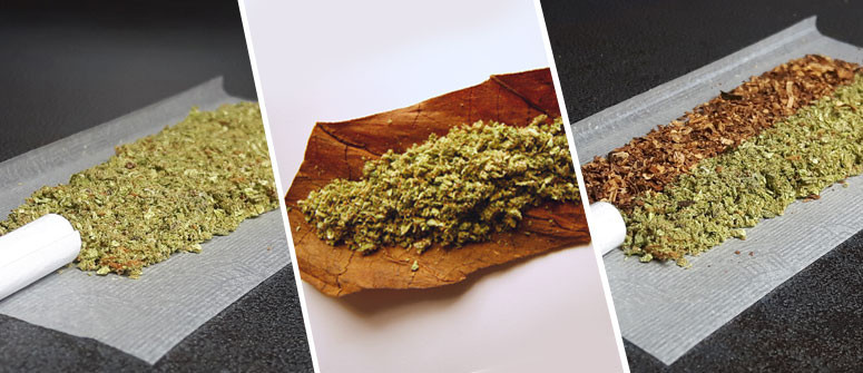What is the difference between Joints, Blunts, and Spliffs?