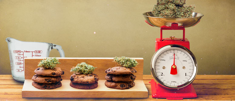 How to calculate dosage with cannabis edibles