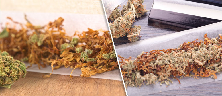 Why do some people mix weed with tobacco?