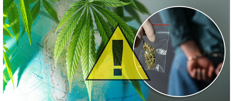 The most dangerous countries for weed lovers