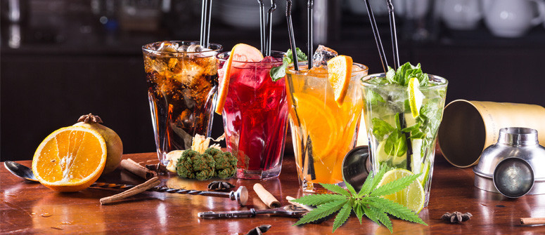 3 Delicious canna-cocktails without alcohol