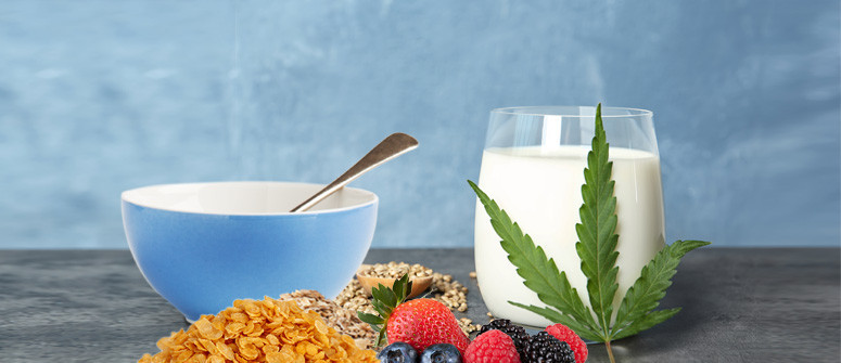 Cannamilk With Cereal: Breakfast Of Champions!