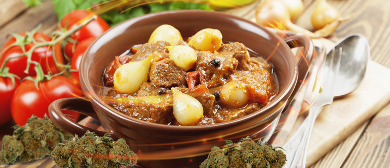 Greek stew with marijuana recipe