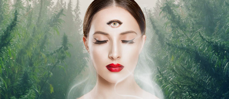 Can you open your third eye with cannabis?