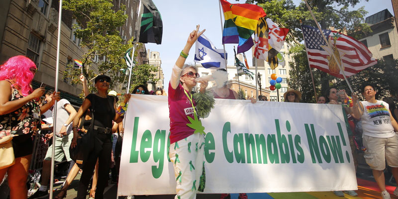 Does legalizing weed help reduce crime rates?